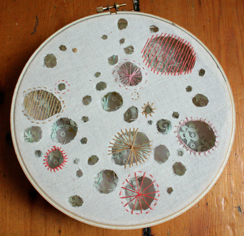 Alli Coate Transparency Embroidery