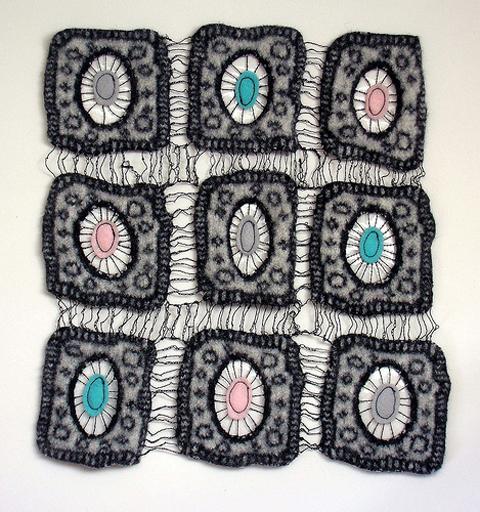 Natalie Horton's stitched cells