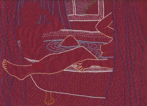 Meagan Ileana Embroidery - Absence