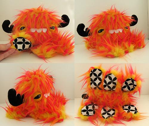 Baby Monstroctopus by loveandasandwich