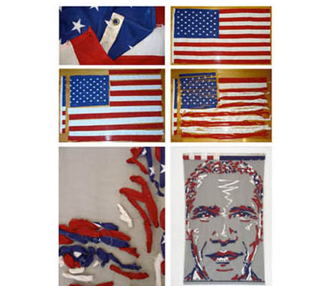 Benjamin Shine Obama Portrait