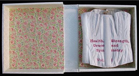 Tamar Stone's Health, Strength, Grace & Symmetry Corset Book
