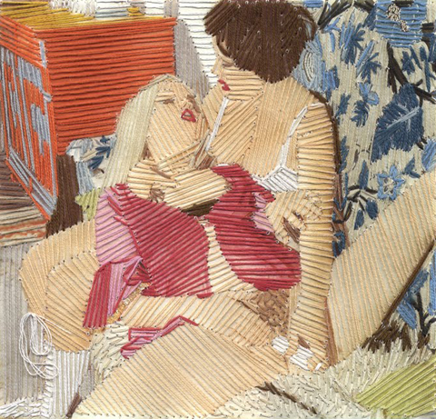 Cecile Jarsaillon NSFW Hand Embroidered Images