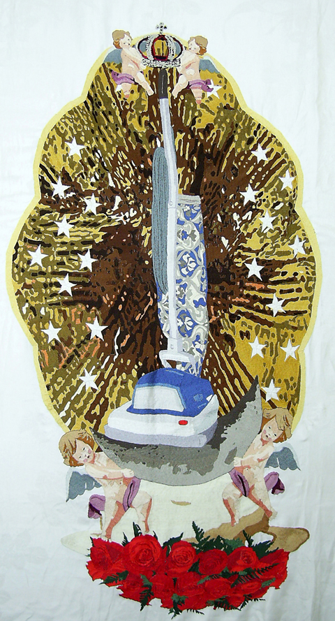Jennifer Boe Embroidery - Immaculate Mary Full of Grace
