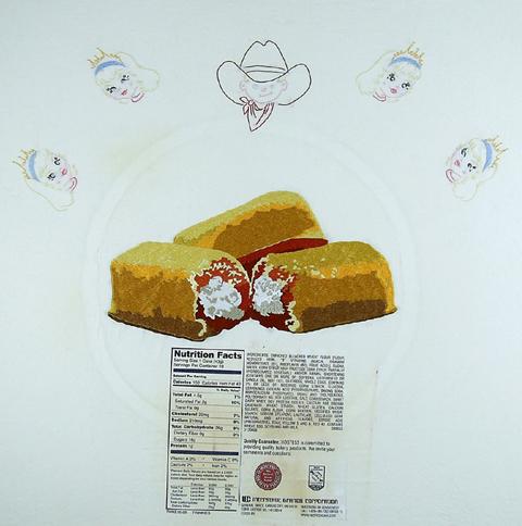 Jennifer Boe Embroidery - Let Them Eat Cake 1