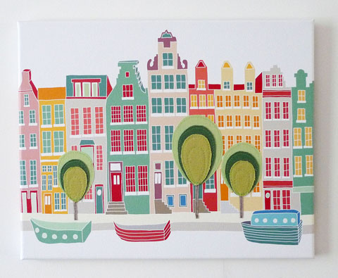 Laura Amiss' Canal Houses