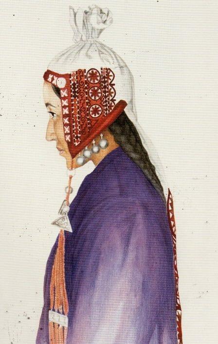 Chach Kep (bonnet) from Kyrgystan