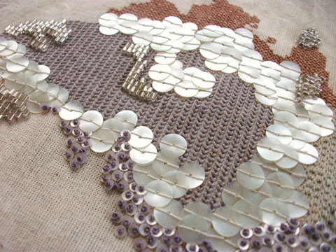 Nicola Searle - Embellished Australia detail
