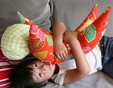 pillow Sarubobo