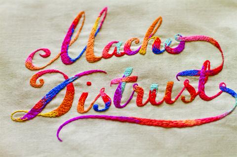 MaricorMaricar - Blondie - Hand Embroidery