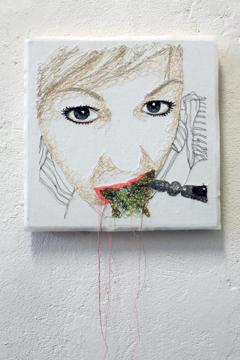 Nike Schroeder's self portrait