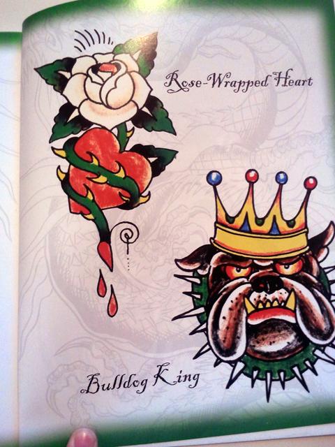 Love Kills Slowly - Ed Hardy Tattoo Cross Stitch