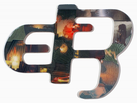 Shaun Kardinal - Misspent Youth - embroidered glyph
