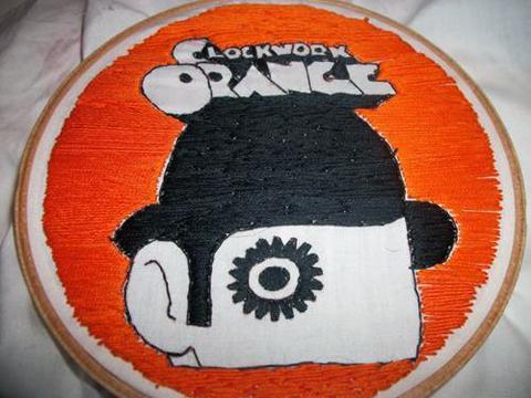 Astriusstar's Clockwork Orange Hand Embroidery