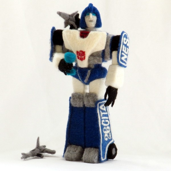 GlassCamel's Needle Felted Mirage Transformer