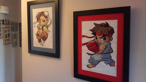 Holder of Anime - Ryu and Chun-li
