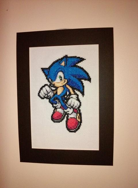 Holder of Anime - Sonic