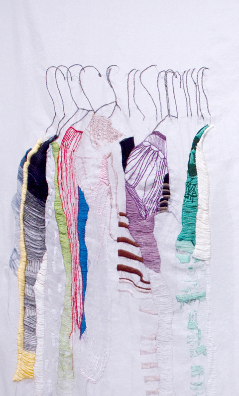 Allison Watkins - Closet Studies hand embroidery