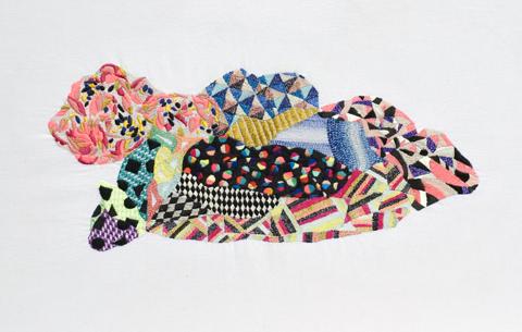 Hand embroidery from Jazmin Berakha