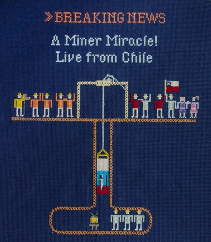 Emily Roose - A Miner Miracle cross stitch