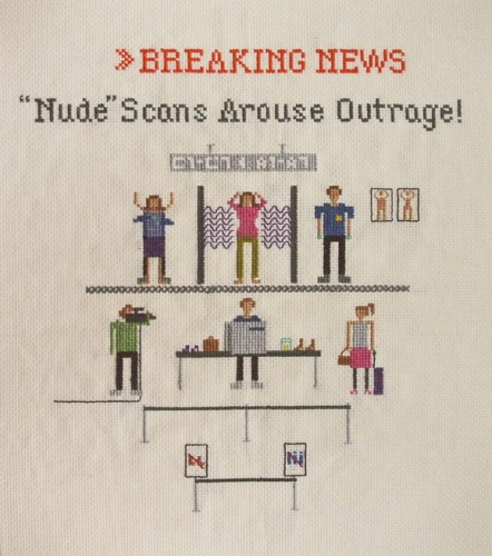 Emily Roose - Nude Scans Arouse Outrage cross stitch