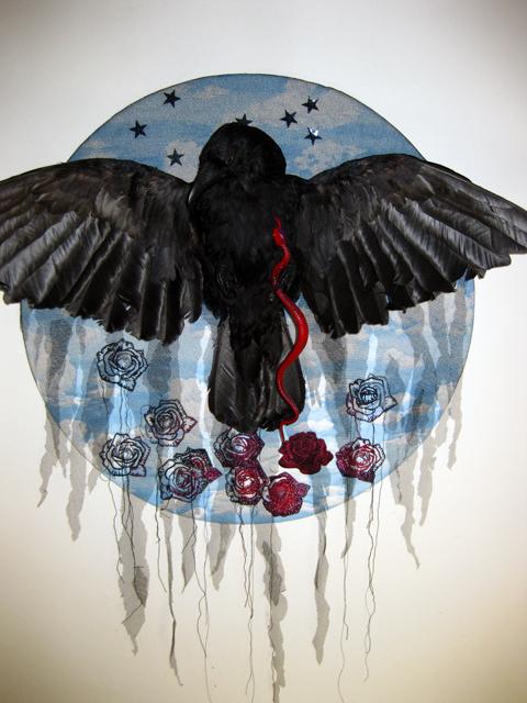 Valerie Huggins' crow