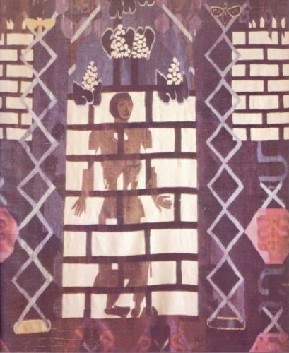 Hannah Ryggen - Grey Figure, 1961
