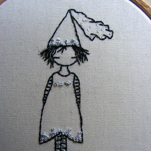 LiliPopo's Little Princess Hand Embroidery