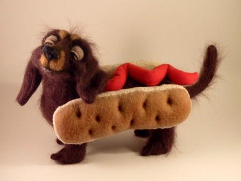 Weenie - a little hot dog by Mellisea