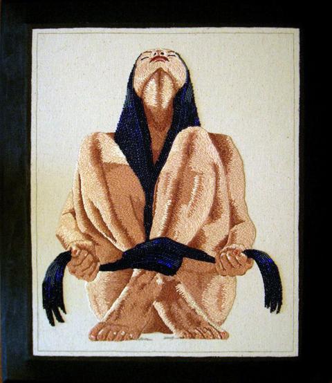 Erika Hagberg - Pahoehoe - hand embroidery