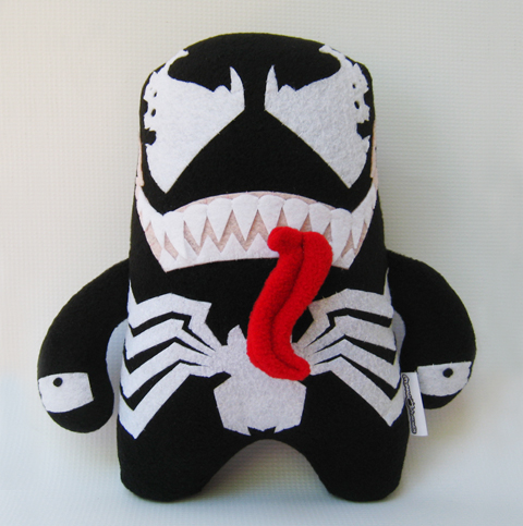 Channel Changers' Venom plush