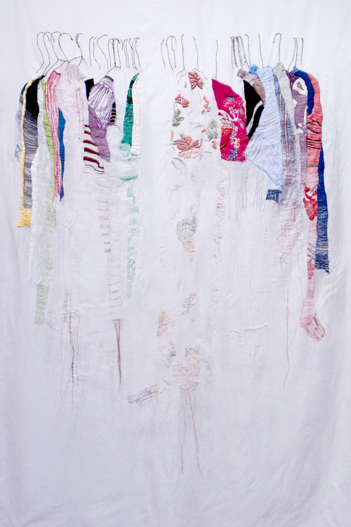 Allison Watkins - My Closet In San Francisco - Hand Embroidery