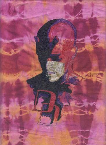 Dare Diva - Mack Daredevil - Machine Embroidery