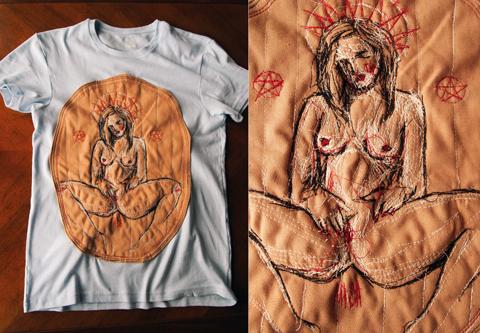 Liza Smirova - hand embroidery