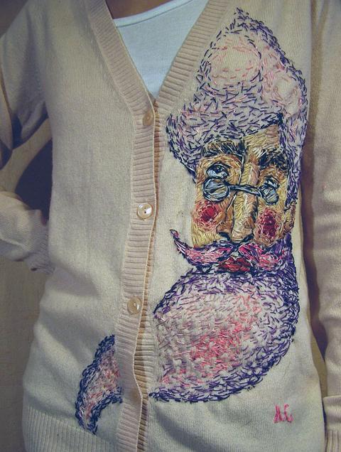 Liza Smirnova hand embroidery