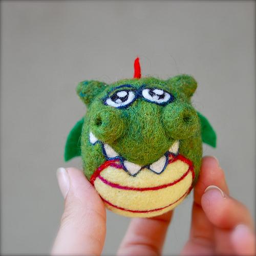 AsherJasper's Needle Felted Dragon