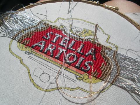 Charlotte Bailey - Stella Artois Goldwork Or Nue