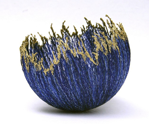 Anne Honeyman - Gold Edge - 3D Machine Embroidery