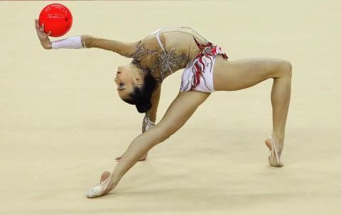 Jana Berezko Marggrander - Rhythmic Gymnastics