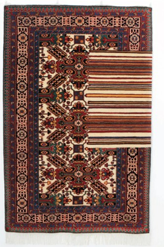 Faig Ahmed - Error - Woven Azerbaijiani Rug