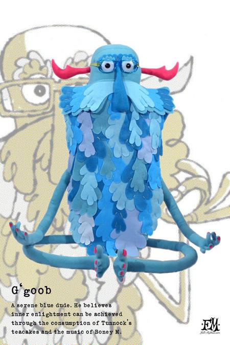 Felt Mistress - G'goob plush toy