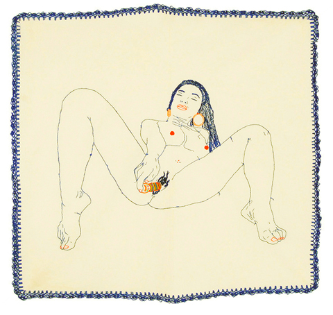 Pita Garcia - Mantel hand embroidered table cloth