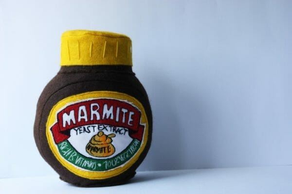 Holly Levell - Marmite - Soft Sculpture