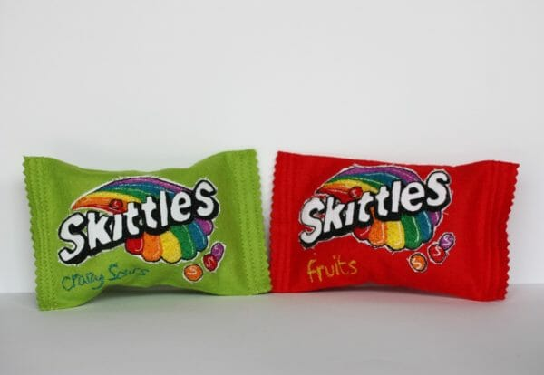 Holly Levell - Skittles - Soft Sculpture