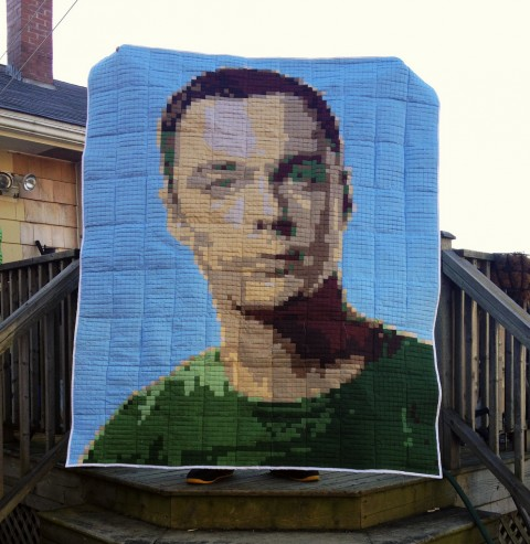 Candy Coated Quilts' Sheldon Cooper Quilt
