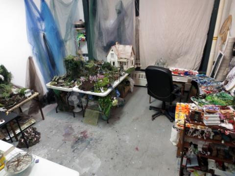 Sophia Narrett, Studio Space