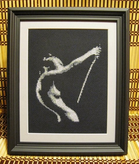 Pete Seazle - Seppuku cross stitch