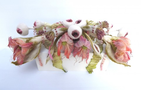 Sue Walton - Central arrangement for Woodland Boudoir