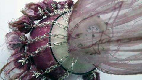 Sue Walton - Pink sorbet detail