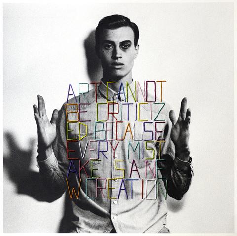 Jose Romussi - Artcannot - embroidery on photo (2013)